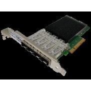 Fiberend 10G SFP+ 4-port PCIe with Intel XL710