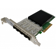 Fiberend 10G SFP+ 4-port PCIe with Intel XL710
