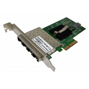 Fiberend 1G SFP 4-port PCIe with Intel 82580