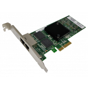 Fiberend 1G RJ45 2-port PCIe with Intel I350 AM2