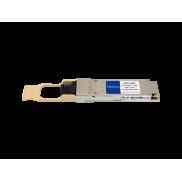Cisco QSFP-40G-SR4 compatible transceiver side view