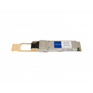 Allied Telesis AT-QSFPSR4 compatible transceiver side view