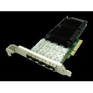 Fiberend 10G SFP+ 4-port PCIe with Qlogic QL41104A